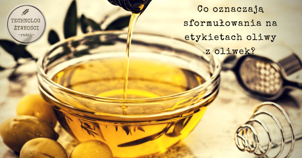 oliwa z pierwszego tłoczenia