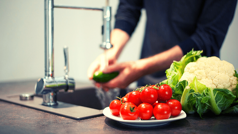 jak czy myć owoce i warzywa